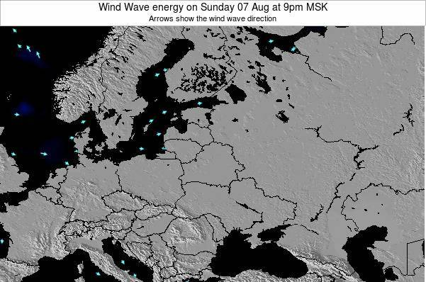 Latvia Wind Wave energy on Saturday 25 May at 3am FET