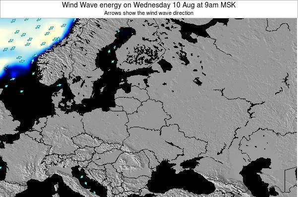 Lithuania Wind Wave energy on Saturday 22 Jun at 3pm FET