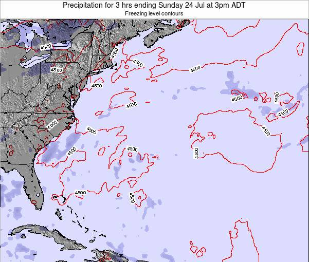 Bermuda Precipitation for 3 hrs ending Saturday 30 Aug at 9pm ADT