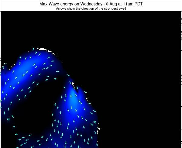 British-Columbia Max Wave energy on Friday 14 Mar at 5am PDT