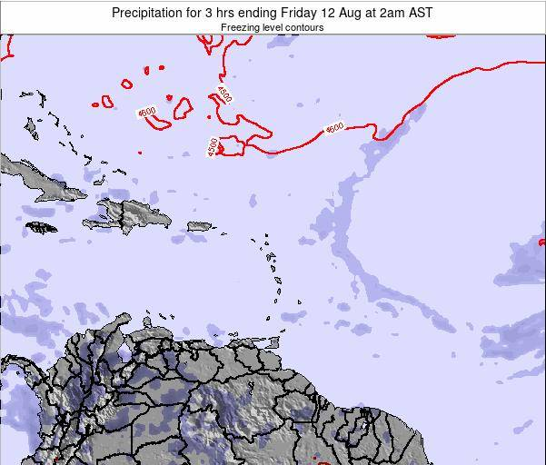 Puerto Rico Precipitation for 3 hrs ending Thursday 30 May at 2pm AST