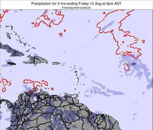 Puerto Rico Precipitation for 3 hrs ending Saturday 25 May at 2am AST