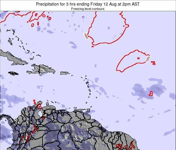 Puerto Rico Precipitation for 3 hrs ending Thursday 30 May at 8am AST