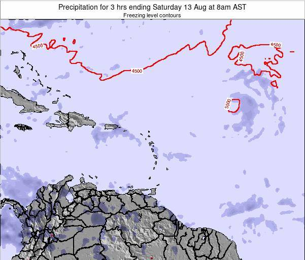 Anguilla Precipitation for 3 hrs ending Friday 31 May at 8pm AST map
