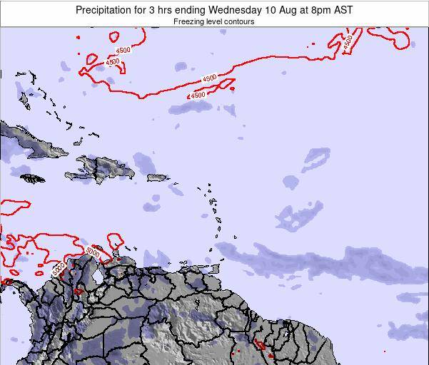 Puerto Rico Precipitation for 3 hrs ending Friday 07 Nov at 2pm AST