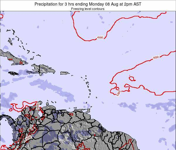 Puerto Rico Precipitation for 3 hrs ending Sunday 26 May at 2am AST
