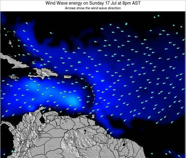 Montserrat Wind Wave energy on Wednesday 02 Dec at 2am AST