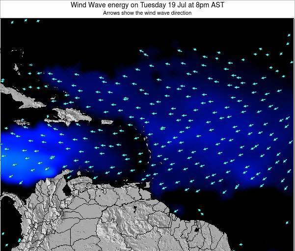 Montserrat Wind Wave energy on Thursday 23 May at 2am AST