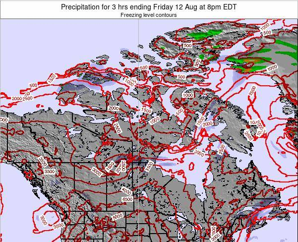 Canada Precipitation for 3 hrs ending Thursday 30 May at 8pm EDT map
