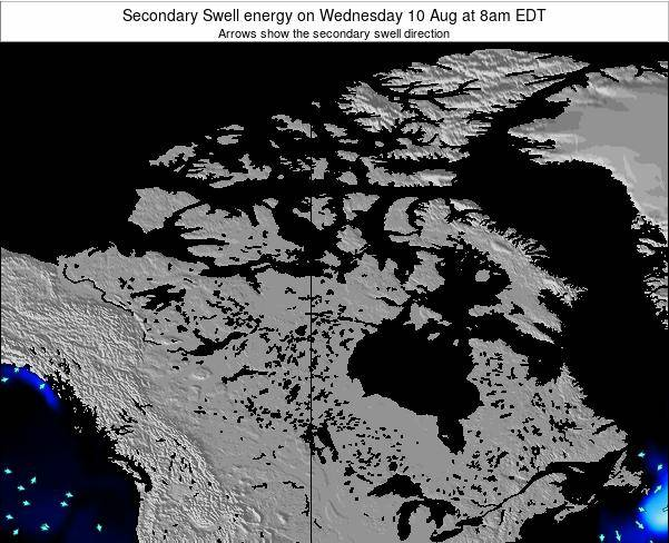 Canada Secondary Swell energy on Monday 06 Apr at 8pm EDT