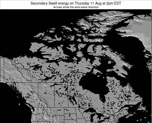 Canada Secondary Swell energy on Sunday 20 Apr at 8pm EDT