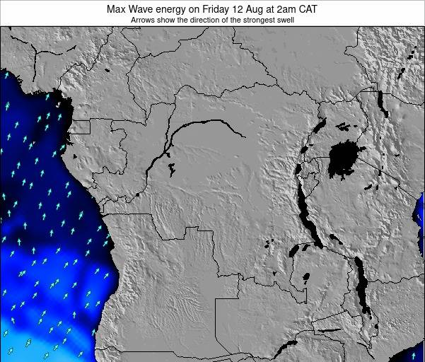 Congo Max Wave energy on Tuesday 28 May at 8am CAT