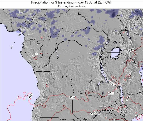 Congo Precipitation for 3 hrs ending Thursday 24 Apr at 8pm CAT