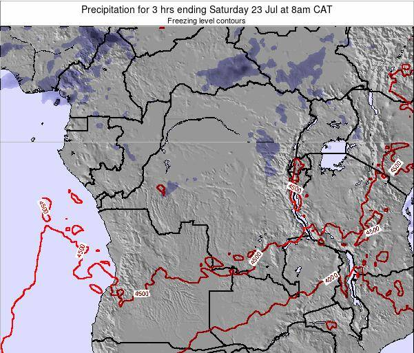 Congo Precipitation for 3 hrs ending Sunday 24 May at 8am CAT