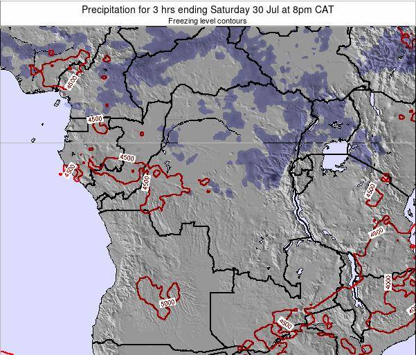 Congo Precipitation for 3 hrs ending Saturday 15 Mar at 2am CAT