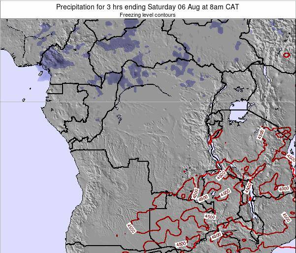 Congo Precipitation for 3 hrs ending Thursday 20 Jun at 2am CAT