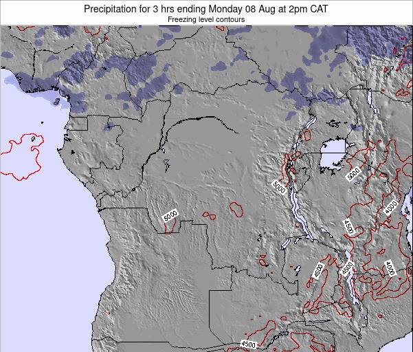 Congo Precipitation for 3 hrs ending Sunday 02 Oct at 2pm CAT