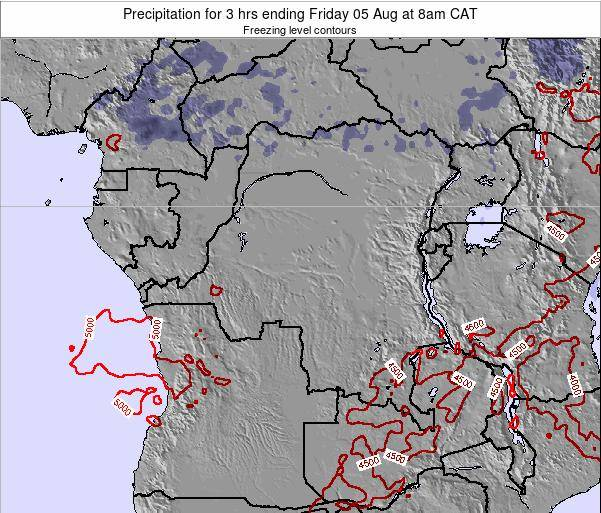 Congo Precipitation for 3 hrs ending Wednesday 04 May at 8am CAT