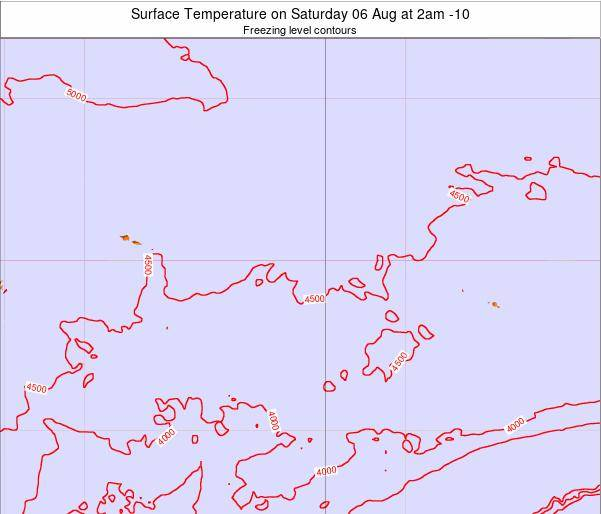 Cook Islands Surface Temperature on Monday 06 Jul at 8am CKT