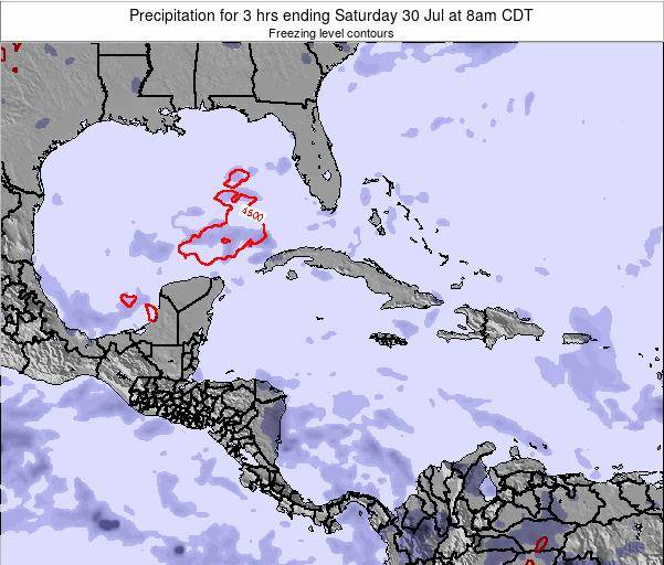 The Bahamas Precipitation for 3 hrs ending Wednesday 29 May at 2am CDT