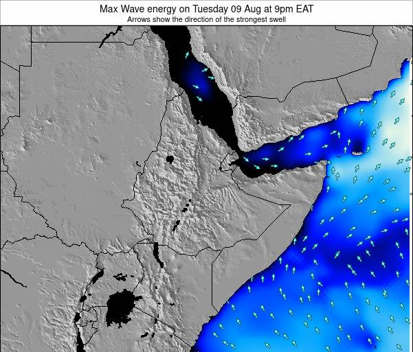 Somalia Max Wave energy on Wednesday 22 May at 3pm EAT