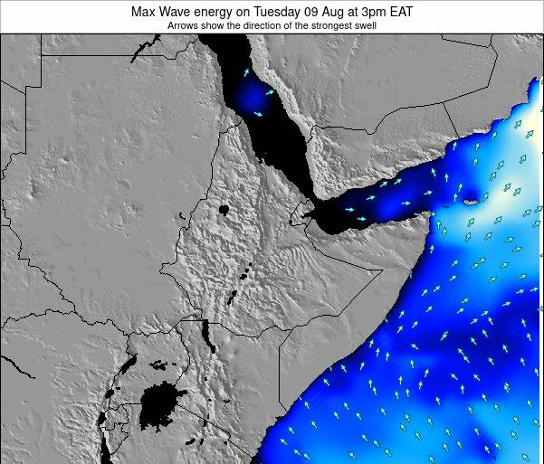 Somalia Max Wave energy on Thursday 23 May at 3pm EAT