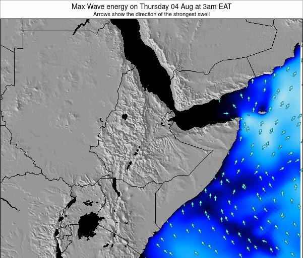 Somalia Max Wave energy on Saturday 18 May at 9pm EAT