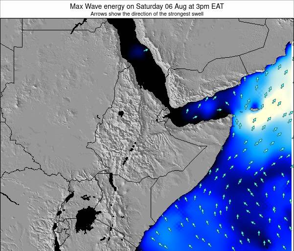 Somalia Max Wave energy on Sunday 21 Dec at 3am EAT