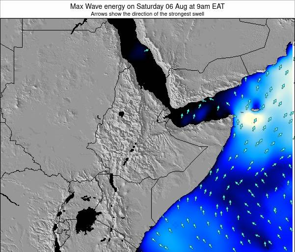 Somalia Max Wave energy on Friday 18 Apr at 9am EAT