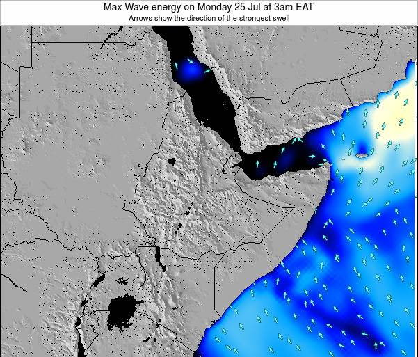 Somalia Max Wave energy on Friday 26 May at 9am EAT