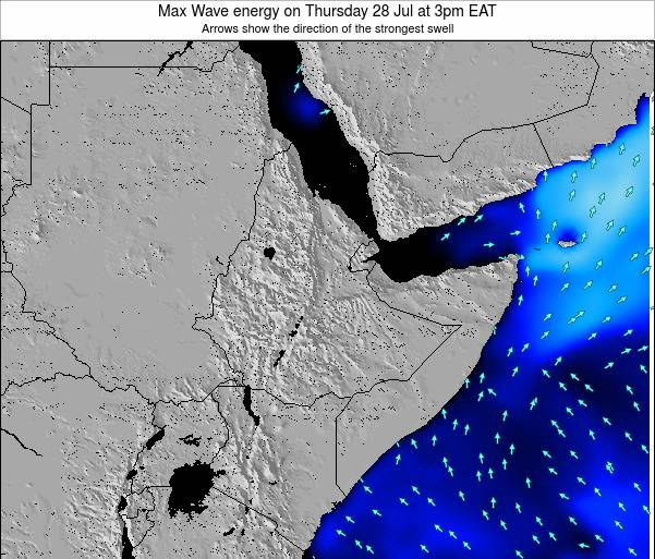 Somalia Max Wave energy on Thursday 30 May at 9am EAT