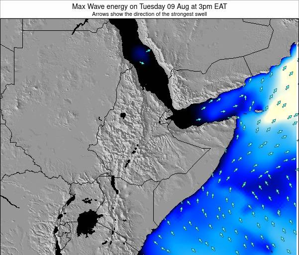 Somalia Max Wave energy on Wednesday 23 Apr at 9am EAT