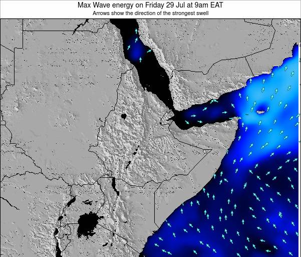 Somalia Max Wave energy on Monday 05 Sep at 9pm EAT