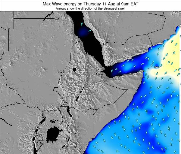 Somalia Max Wave energy on Wednesday 29 May at 9pm EAT