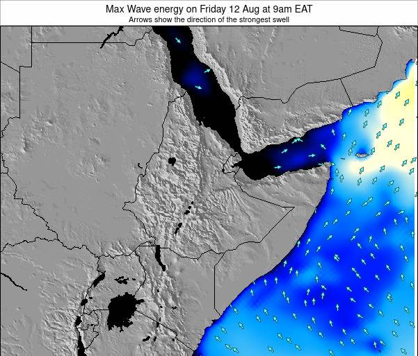 Somalia Max Wave energy on Thursday 24 Apr at 3am EAT