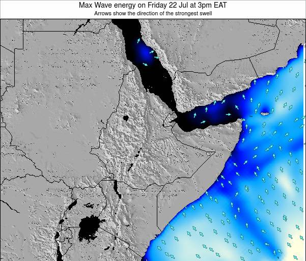 Somalia Max Wave energy on Monday 08 Sep at 3pm EAT