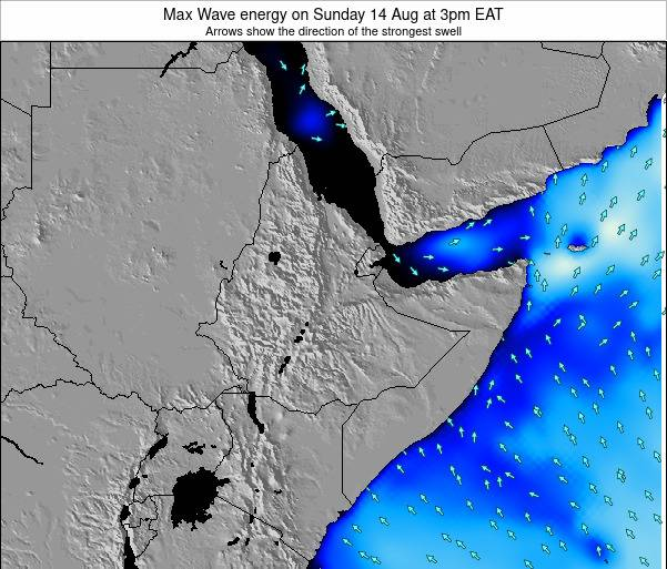 Somalia Max Wave energy on Sunday 26 May at 9am EAT