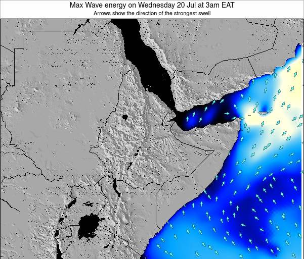 Somalia Max Wave energy on Sunday 16 Mar at 9pm EAT