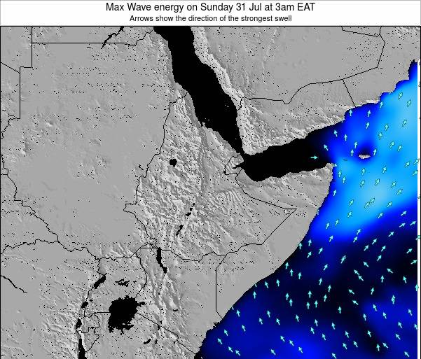 Somalia Max Wave energy on Tuesday 02 Aug at 3pm EAT