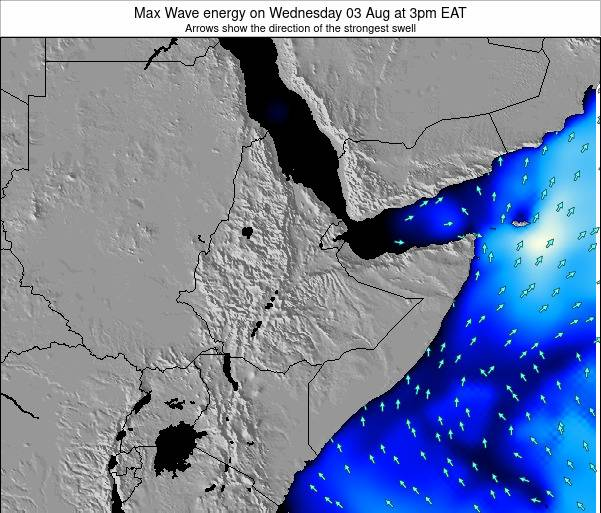 Somalia Max Wave energy on Wednesday 12 Mar at 3pm EAT