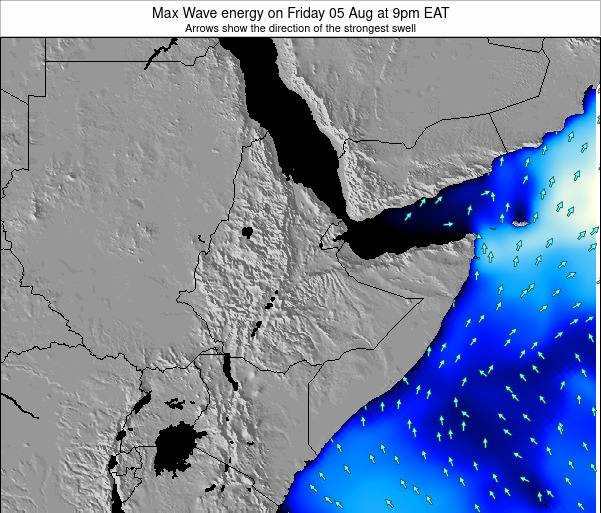 Somalia Max Wave energy on Tuesday 22 Apr at 9am EAT