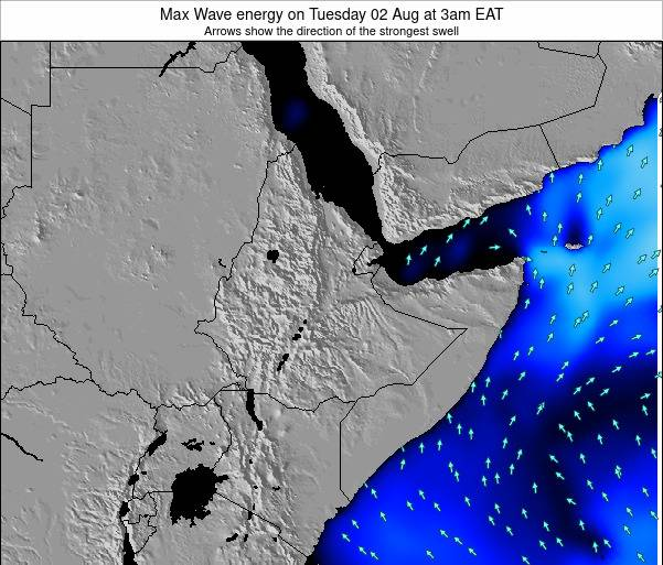 Somalia Max Wave energy on Friday 13 Dec at 9am EAT
