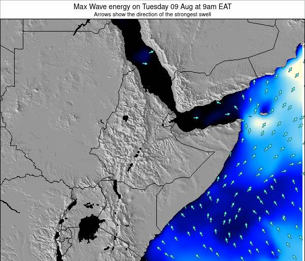 Somalia Max Wave energy on Thursday 23 May at 9am EAT