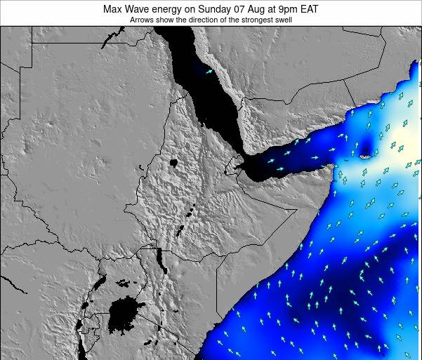 Somalia Max Wave energy on Sunday 08 May at 3pm EAT
