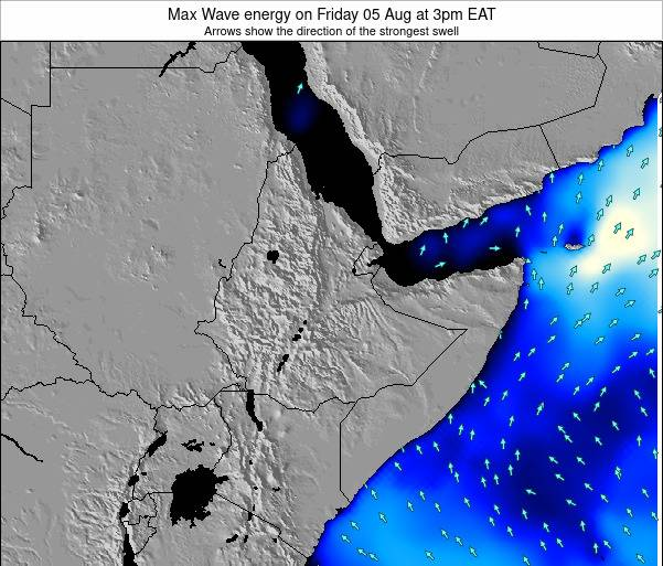 Somalia Max Wave energy on Monday 27 May at 9am EAT