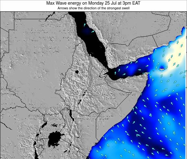 Somalia Max Wave energy on Thursday 19 Jan at 3am EAT