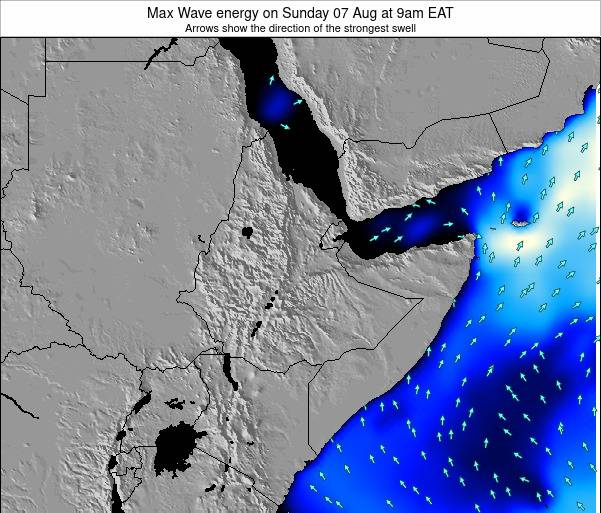 Somalia Max Wave energy on Saturday 07 Mar at 3pm EAT