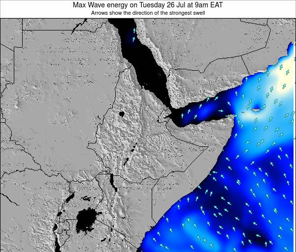 Somalia Max Wave energy on Monday 07 Sep at 9am EAT