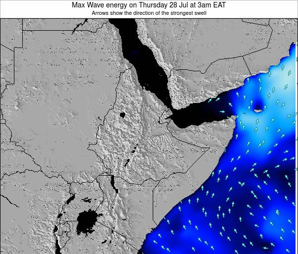 Somalia Max Wave energy on Friday 24 May at 9am EAT