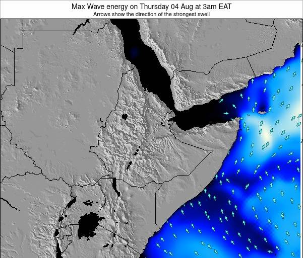 Somalia Max Wave energy on Saturday 14 Dec at 9pm EAT